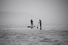 duo (Alex Jacek) Tags: sup stand up paddeling ostsee baltic baltyk balticsea bar meer morze sea warnemünde warnemunde open water sport sports watersports wassersport sporty morskie bw sw black white blackandwhite