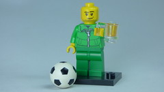 Brick Yourself Bespoke Custom Lego Figure Irish Footballer