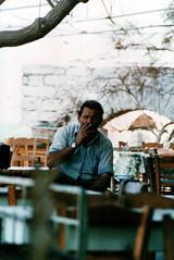 Βαγγέλης - Vangelis, 1980 (Νίκος Αλμπανόπουλος) Tags: ikaria ικαρία armenistis busdriver oldphoto