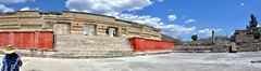 Mitla, Mexico (D-A-O) Tags: mitla oaxaca mexico zapotec ruins nikond90 archaeology historic civilisation palace courtyard panorama stitched