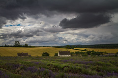 Lavender Fields (Martyn.A.Smith) Tags: clouds countryside landscape colour house hills lavender fields canon7d snowshill broadway cotswolds englanduk