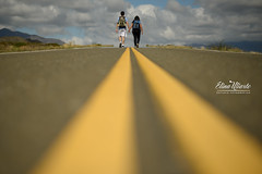 Veri & Pol (Elina Uliarte) Tags: barreal pampa del leoncito otoño pareja novios