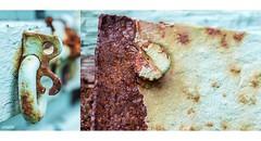 Aqua Rust (red stilletto) Tags: apollobay apollobayvictoria thegreatoceanroad thegreatoceanroadvictoria greatoceanroad greatoceanroadvictoria summer rust gate aqua colourpalettes colourpalettecoast