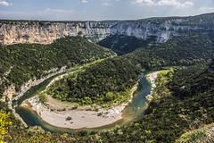 Oxbow (beatriceverez) Tags: oxbow ardeche gorge france river