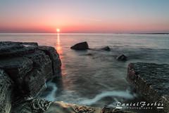 DSC_0026-1 (forbesy10) Tags: seatonsluice seascape sunrise rocks sky beach coast newcastleupontyne northumberland lx