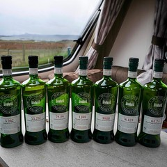 Eeny, meeny, miny, moe #smws #singlemalt #scotchwhisky #whisky bottles almost empty - making room for new stock