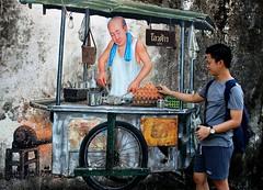 Street food! (Peter Denton) Tags: streetfood publicart fresco phuket town thailand street southeastasia ©peterdenton art painting mural canoneos100d