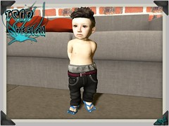 Baggy Pants - Mike (syddarkaless) Tags: tcod design mesh fitmesh baggy pants mike hud textures baby kids child toddleedoo