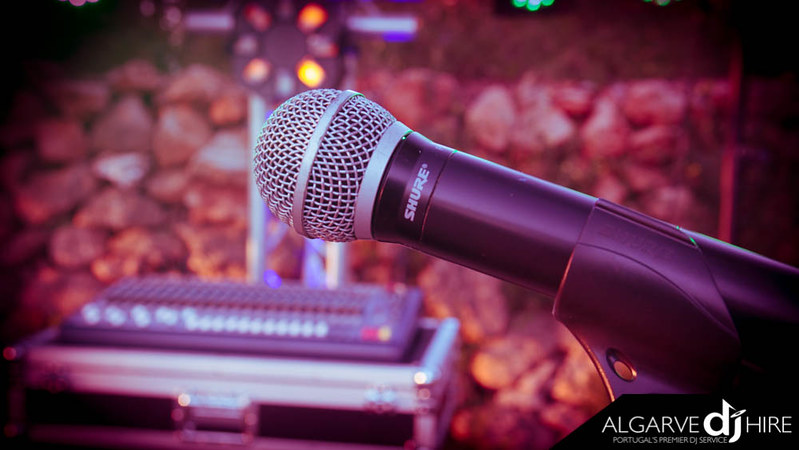 Shure Wireless Microphone in action!