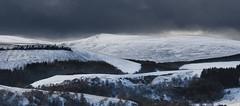 Winter (creyala) Tags: winter hills tomintoul scotland sky dramatic white snow landscape view nikon d7000 nikond7000 snowiscoming