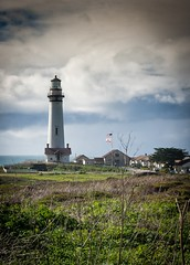 Pigeon Point Lighthouse No.14 (Charlie Day DaytimeStudios) Tags: beach california clouds highway1 landscape lighthouse ocean pacificcoast pacificcoasthighway pch pigeonpointca sky surf water waves