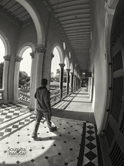 Aga Khan Palace (soumitra911) Tags: aga khan palace agakhan pune india maharashtra black white