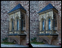 Schloß Wernigerode 3-D / Stereoscopy / CrossEye / HDR / Raw (Stereotron) Tags: sachsenanhalt saxonyanhalt harz mountains gebirge wernigerode castle burg schloss architecture neogothic neugotik neugotisch europe germany crosseye crosseyed crossview xview cross eye pair freeview sidebyside sbs kreuzblick 3d 3dphoto 3dstereo 3rddimension spatial stereo stereo3d stereophoto stereophotography stereoscopic stereoscopy stereotron threedimensional stereoview stereophotomaker stereophotograph 3dpicture 3dglasses 3dimage hyperstereo canon eos 550d chacha singlelens kitlens 1855mm tonemapping hdr hdri raw ostfalen ostfalia hardt hart hercynia harzgau