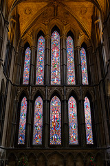 The Devil's In The Details (realstephenwhite) Tags: religion leadlight worcester travel window uk colourful stainedglass cathedral architecture xt2 lavish glass fujifilm church