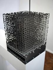 Anna Lorenz - Altar-Piece - 2 (the justified sinner) Tags: justifiedsinner altar piece annalorenz steel iron cross square cubepanasonic 17 20mm gx7 birmingham westmidlands cityuniversity bcu schoolofjewellery