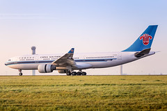 CDG - Airbus A330-223 (B-6135) China Southern Airlines (Aéro'Passion) Tags: cdg lfpg aéropassion airport airlines aircraft aéroport airbus atterrissage landing photography photos parisroissycharlesdegaulle passage piste ponta1 paris 6d natw canon b6135 a330 a330223 chinasouthernairlines reverse repousse tower control