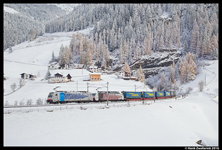 Lokomotion 186 287 + 189 918, St. Jodok am Brenner 08-11-2016