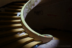 The stairs to hell (PHOTOGRAFIEBER) Tags: portugal roadtrip architecture architektur abandoned shadow mystic