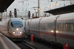 taking an early train from Frankfurt Central Station (Christopher DunstanBurgh) Tags: frankfurtammain frankfurt hauptbahnhof garecentral centralstation bahnhof deutschebahn