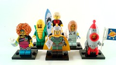 I wasn't expecting these till May! (machinsean) Tags: lego collectableminifigures