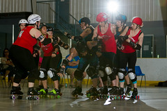 2016-06-05 Whitewood Block Party Game 8_001 (Mike Trottier) Tags: blockparty canada derby miketrottier miketrottierrollerderbyphotography rollerderby saskatchewan wrdl whitewood redneckbetties swiftcurrent winnipeg can