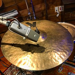 A Meeting of the Minds (Pennan_Brae) Tags: sony microphones musicphotography music drum mic microphone recordingstudio cymbals percussion musicstudio recording cymbal drums zildjian