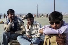 Maha Kumbh Mela, 2001. (Rui Mendes) Tags: 022001 mahakubhmela índia