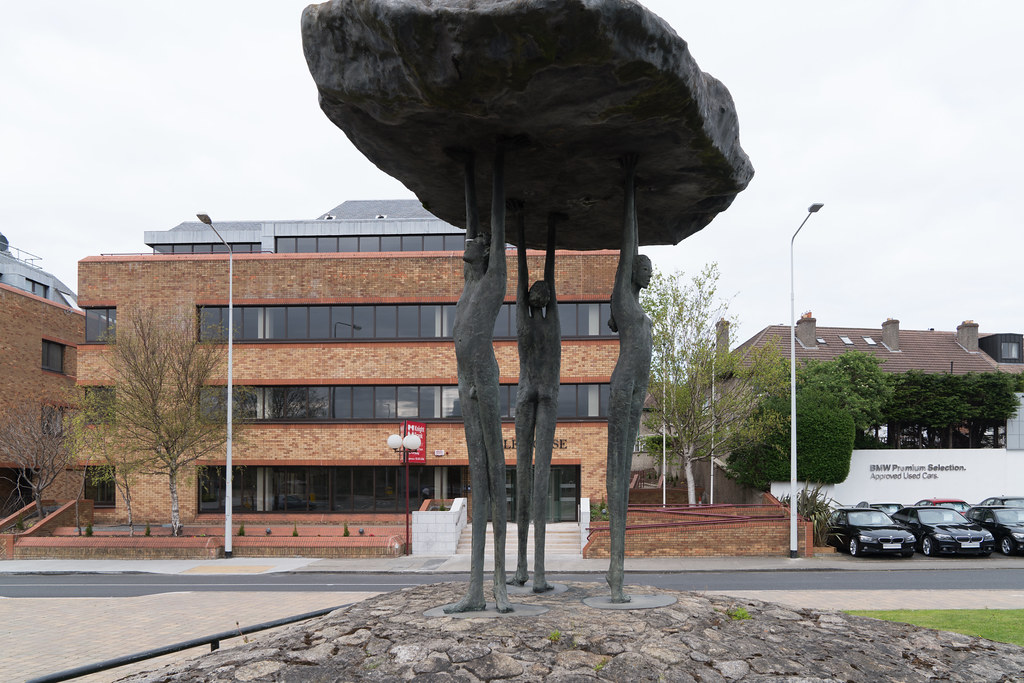 BLACKROCK DOLMEN BY ROWAN GILLESPIE [TEMPLE ROAD BLACKROCK]-126888