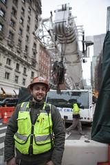 joe the builder (n.a.) Tags: newyorkcity nyc newyork city manhattan builder high visibility hiviz jacket bib dayglo hard hat crane construction