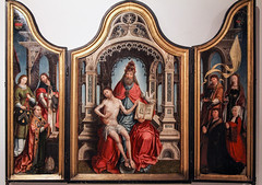 God So Loved the World (Lawrence OP) Tags: holytrinity palaisdesbeauxarts museum lille medieval triptych altarpiece jesuschrist love redemption salvation god father holyspirit scriptures worshippers