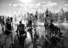(sergeyr10) Tags: people photojournalism blackandwhite bw outdoor monochrome urban street streetphotography shadow lightsshadows