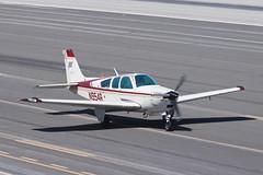 Private Beech F33A Bonanza N954R (jbp274) Tags: smo ksmo santamonica airport airplanes beech beechcraft bonanza f33