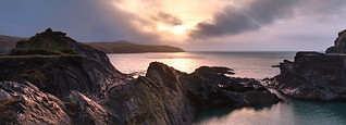 Abereiddy Sunset