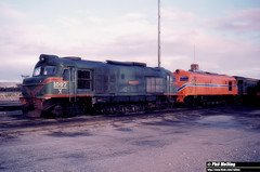 1236 X1007 XB1018 Forrestfield Loco Depot 21 May 1980. (RailWA) Tags: railwa philmelling x1007 xb1018 forrestfield loco depot may 1980 westrail