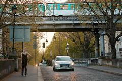 Bir-Hakeim bridge Paris (Carlos Pinho Photography) Tags: paris street streetphotography sunset métroparisien métro