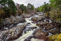Achness Falls (scottishkennyg) Tags: cassley waterfall scotland sutherland salmon