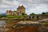 Editando un recuerdo (FJcuenca) Tags: eileandonancastle bridge canoneos40d escocia fjcuenca javiercuencamuñoz puente scotland tamron18250 dornie reinounido gb