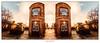 The Brunswick twins (G. Postlethwaite esq.) Tags: canon40d derby derbyshire hdr hss sigma1020 sliderssunday baretrees boozer buildings clouds mirrorimage oasis panorama photoborder pub realale sky wateringhole