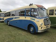 MJB481 Bedford SBG Duple Vega 1956 of Lodges (Ian Press Photography) Tags: mjb481 bedford duple vega lodges coach coaches bus buses sbg 1956 ipswich suffolk felixstowe