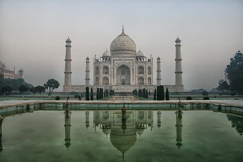 Morning Stroll in the Taj Mahal