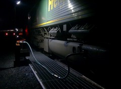 Freightliner Class 66 - Night Fueling at Hunterston (Gilli8888) Tags: night industrial engine railway loco locomotive fuel freightliner class66 hunterston freightlinerheavyhaul