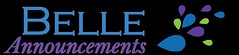 Belle Announcements Logo (rocketgirls) Tags: belle announcements