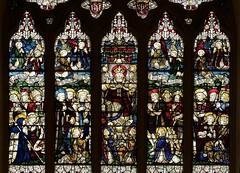 Incarnation Episcopal Church Great West Stained Glass Window by C.E. Kempe, New York City (notmydayjobphotography) Tags: newyorkcity worship stainedglasswindow ce kempe incarnationepiscopalchurch