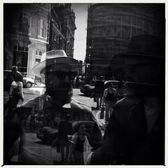 A reflection of a reflection within a reflection.