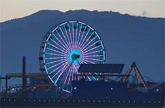 Ferris Wheel Study #2 (Eric Lassiter) Tags: losangeles santamonica ferriswheel santamonicapier californiapier santamonicaferriswheel