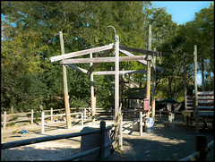 Camel Ride Structure (Hetx) Tags: wood nyc newyorkcity wild ny newyork nature awning zoo design asia path bronx wildlife wcc camel shade bronxzoo borough recreation thebronx outerborough camelrides bronxpark wildlifeconservationsociety zoologicalpark thebronxzoo wildasia