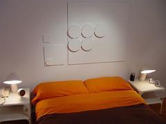 housebedroom9 (Catherine Bujold Sorellarium 13) Tags: design modernism pop plastic minimalism space1999 artemide itc retrofuturism gerryanderson guzzini sorellalamp