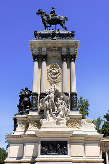 MADRID / Parque del Retiro, Monumento al Rey Alfonso XII de España (22/06/2013)