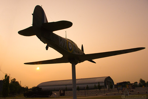 Sunrise over Duxford