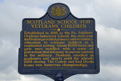 """Scotland School Marker 23_ (PANationalGuard) Tags: training fig pennsylvania military guard ceremony historic orphans pa national nationalguard marker png annville base alumni veterans center"""" pang natl indiantown county"""" guard"""" """"fort """"national 17003 """"ft """"pa base"""" co"""" """"military """"pennsylvania installation"""" gap"""" scotlandschool ftig """"lebanon """"indiantown"""
